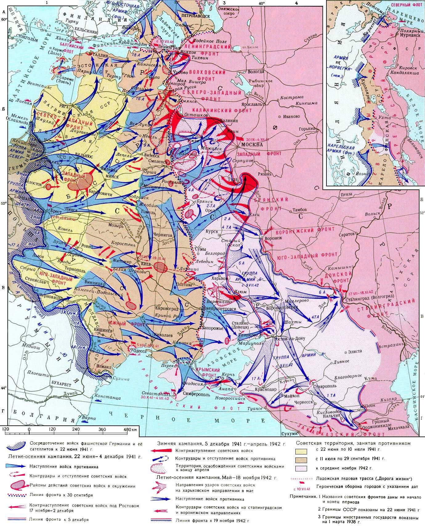 Первые месяцы Великой Отечественной войны